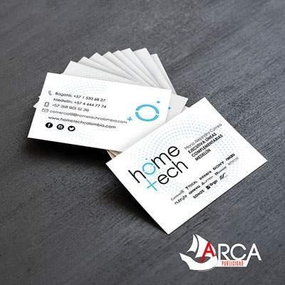 tarjetas de presentacion medellin arca publicidad